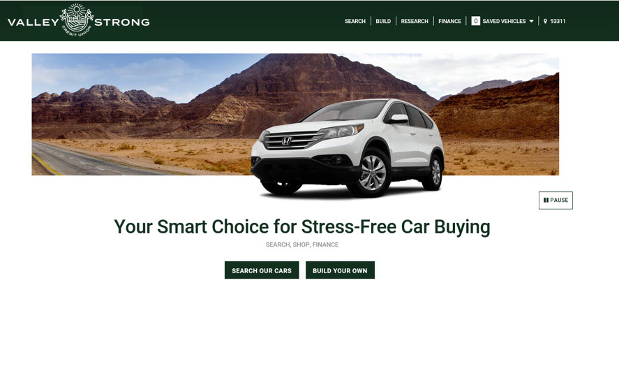 Valley Strong Auto Finder